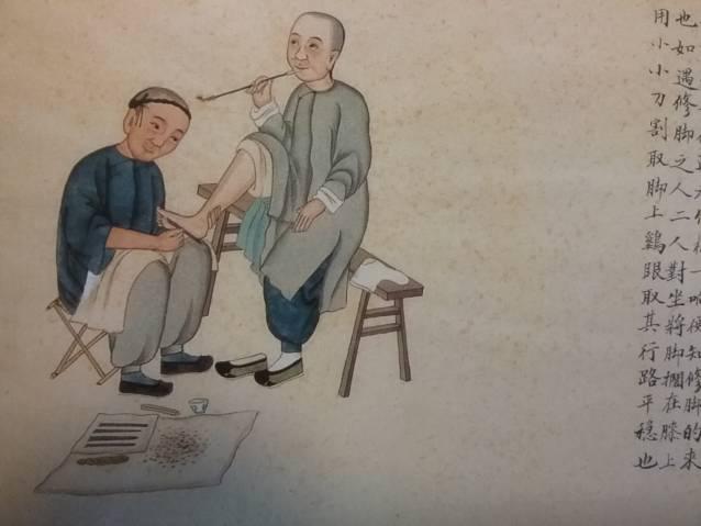 deux chinois en réflexologie